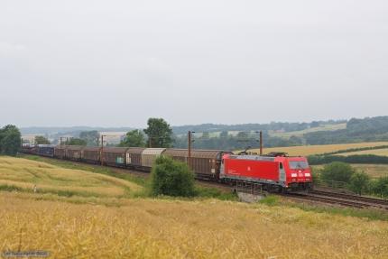 DB Schenker 185 325-5 med G44780 (Padborg - Fredericia) ved Gudsø - 28.07.2012
