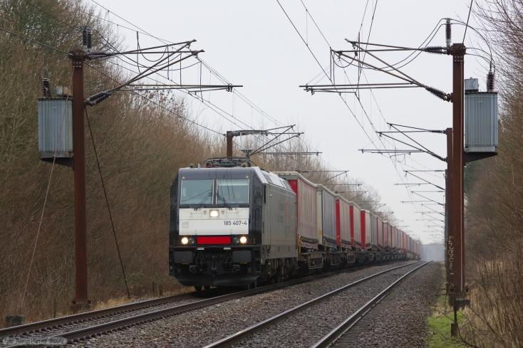 TXL 185 407-4 med TG40547 (Mgb-Pa) mellem Marslev og Odense - 05.01.2013