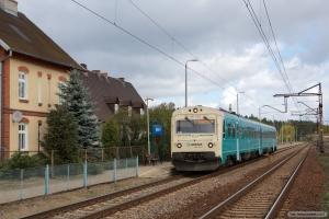 ARRIVA MR/D 22 som AR 55194 (Tuchola-Bydgoszcz Główna) ved Maksymilianowo - 11.04.2017