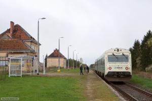 ARRIVA MR/D 15 som AR 55140 (Chojnice-Bydgoszcz Główna) ved Stronno - 11.04.2017