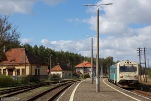 ARRIVA MR/D 15 som AR 55073 (Wierzchucin-Szlachta) ved Wierzchucin - 11.04.2017