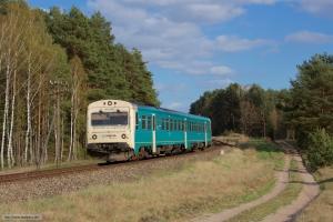 ARRIVA MR/D 68 som AR 55175 (Bydgoszcz Główna-Tuchola) mellem Wierzchucin Stary og Cekcyn - 11.04.2017