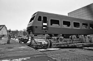 Styrevogn litra BFS på Scandia, 12. februar 1981.