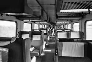 Interiør i BFS 102, maj 1982.