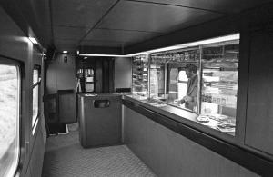 Protolynet, mellemvogn CFM 201 med kioskafdeling, maj 1982