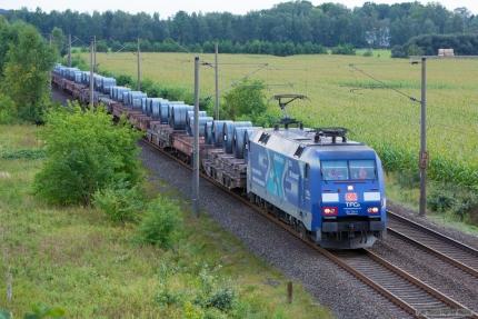 DB 152 134-3 ved Ramelsloh - 15.09.2012