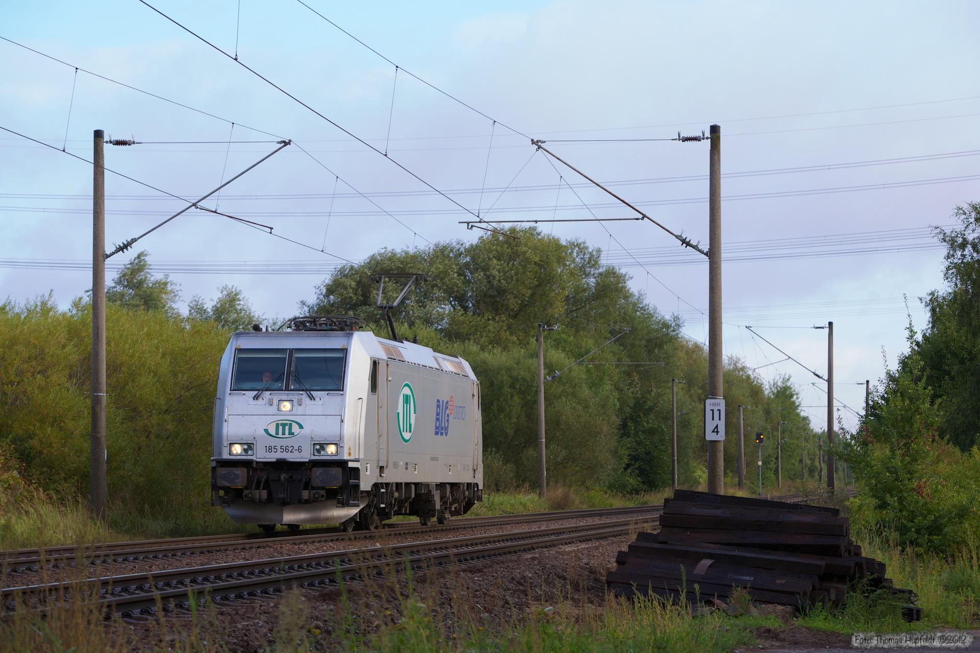 ITL 185 562-6 ved Hamburg Moorburg - 15.09.2012