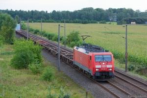 DB Schenker 189 005-2 ved Ramelsloh - 15.09.2012