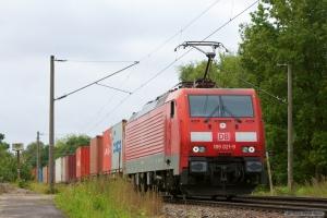 DB Schenker 189 021-9 ved Hamburg Moorburg - 15.09.2012