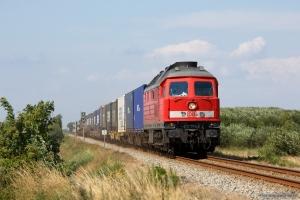DB 232 384-8 med GD 138713 (Es-Tdr) mellem Sejstrup og Gredstedbro - 02.08.2014