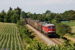 DB 232 534-8 med GD 138715 (Es-Tdr) mellem Gredstedbro og Ribe Nørremark - 02.08.2014