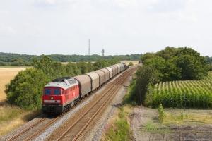 DB 232 568-6 med GD 138606 (Tsr-Es) mellem Bramming og Tjæreborg - 02.08.2014