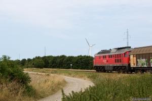 DB 232 587-6 med GD 138708 (Tdr-Es) mellem Skærbæk og Døstrup - 04.08.2014