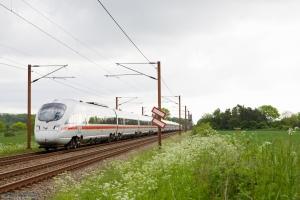 DSB/DB BR 605 sæt 19, 14, 04 som IE 381 (Ar-Pagr) mellem Fredericia og Taulov - 29.05.2014
