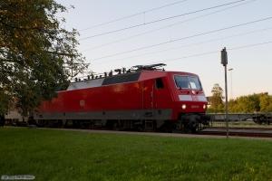 DB 120 151-6 med CNL1273 ved Padborg - 28.07.2012