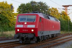 DB 120 151-6 i ved Padborg - 28.07.2012