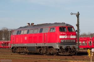 DB 218 190-7 i Niebüll - 11.03.2007