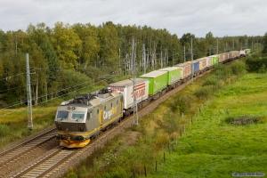 Cargo Net El.16 med GT 41903 (Gåvetop - Alvesta) mellem Laxå og Älmhult - 31.08.2011