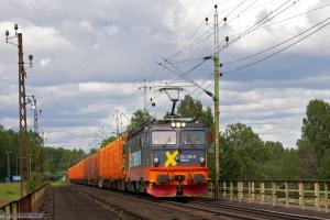 Hector Rail 161 106-0 med GT41663 mellem Laxå og Grums, set ved Karlstadt - 05.06.2012