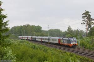 Hector Rail 242 503 med RST 7151 (Malmö C-Stockholm C) mellem Diö og Älmhult - 09_06_2012