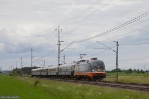 Hector Rail 242 532 med RST 7140 (Malmö C-Stockholm C) mellem Lindköping og Linghem - 07.06.2012