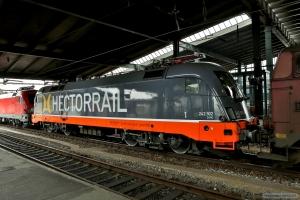 Hector Rail 242.502 i Fredericia - 13.03.2016