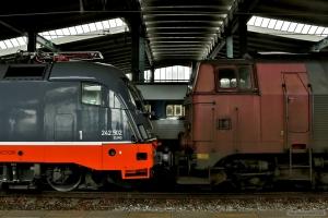 NEG MZ 1439 og Hector Rail 242.502 i Fredericia - 13.03.2016