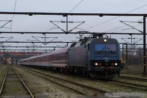 DSB EA 3001 med M 9169 på GB - 25.01.2009