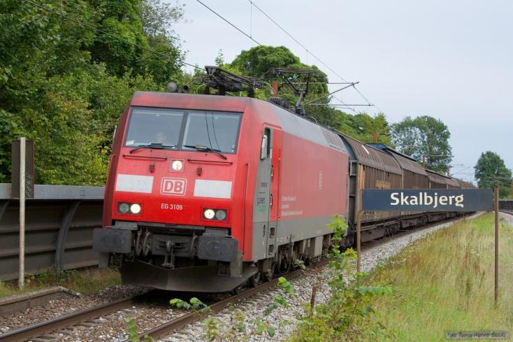 DB Schenker EG 3109 med GD44701 (Mgb-Pa) ved Skalbjerg - 24.08.2012
