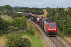 DB Schenker EG 3108 med GD44747 (Malmö G - Padborg) mellem Vojens og Sommersted - 29.07.2012