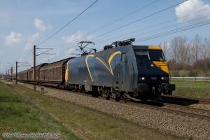 DB Schenker EG 3101 med G38812 ved Nyborg - 09.04.2009