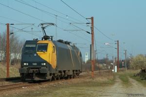 Railion DK EG 3102 ved Padborg - 31.03.2007