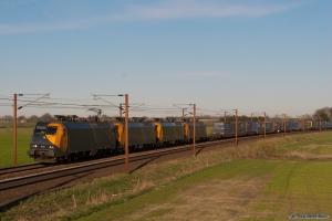 Railion DK EG 3112, EG 3105, EG 3113 og EG 3110 med G41911 (Mgb-Tl) ved Fjenneslev - 14.04.2007