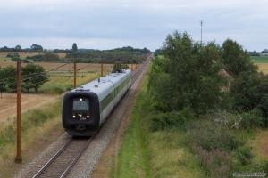 DSB ER sæt 04 som IC948 (Sønderborg - Kolding) mellem Vojens og Sommersted - 29.07.2012