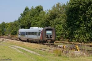 Regionstog (LJ) MF sæt 22 som 225044 (Nsk-Nf) i Søllested - 05.08.2013