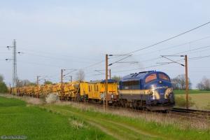 Contec Rail MY 1158 med BG 6101 (Gl - Tl) mellem Holmstrup og Tommerup - 21.04.2014