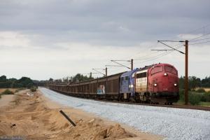 RailCare MY 1134 og Contec MX 1008 med RG 6211 (Tl-Pa) mellem Sommersted og Vojens - 05.08.2014