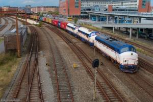 NJ M17, M10 og M11 med GF 7272 (Ab-Ar) i Aalborg - 14.08.2007