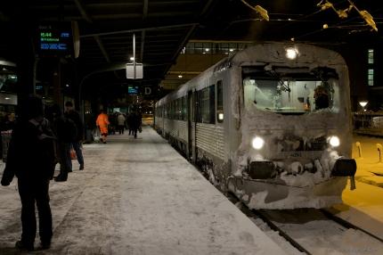 DSB MR/MRD sæt 61, Odense d. 17.12.2009