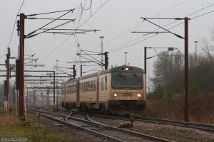 DSB MR/MRD sæt 51 som RV2344 (Pa-Fa) ved Padborg - 20.01.2008