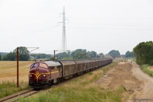 CFL Cargo MX 1029 med CG 6226 (Hr-Pa) mellem Farris og Sommersted - 07.08.2014