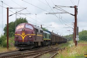 CFL MX 1029 + Ascendos RL001 med CG8759 (Herning - Padborg) ved Padborg - 28.07.2012