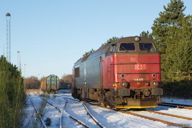 DB Schenker MZ 1449 ved Tønder - 06.12.2012