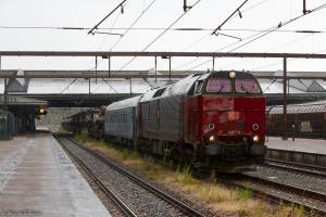 RSC MZ 1459 med G 6750 (Ho-Fa) i Fredericia 26.06.2014