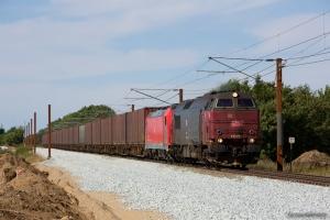 DB Schenker MZ 1449 og 185 336-2 med GX 63583 (Mgb-Pa) mellem Sommersted og Vojens - 08.08.2014