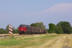 RSC MZ 1456 med GL 9455 (Htå-Kj) mellem Havdrup og Lille Skevsved - 06.08.2013