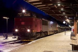 DB Schenker MZ 1449 med G6726 (Tdr-Es) ved Ribe - 06.12.2012