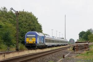 NOB DE2000-03 med NOB 81752 ved Lindholm - 03.08.2014