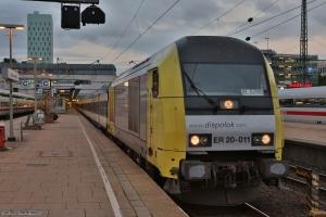 NOB (Dispolok) ER20-011 ved Hamburg Altona - 15.09.2012
