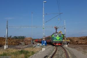 TÅGAB Rc2 008 med GT 45629 (Hallsberg - Stockaryd Terminalen) ved Stockaryd Terminalen - 26.08.2011